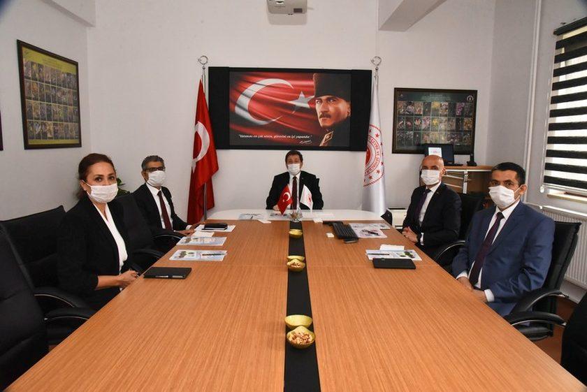 Muğla Valisi Orhan Tavlı, İl Müdürümüzden yapılan çalışma ve faaliyetlerle ilgili bilgi aldı.