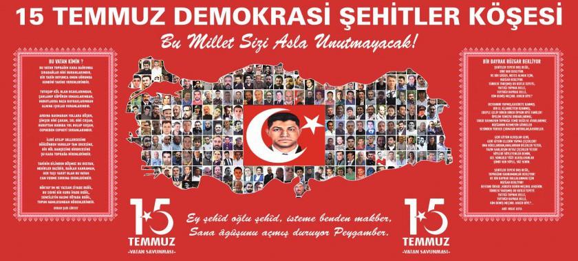 Nevşehir Valiliğinin 15 Temmuz Demokrasi ve Milli Birlik Günü etkinlikleri programı