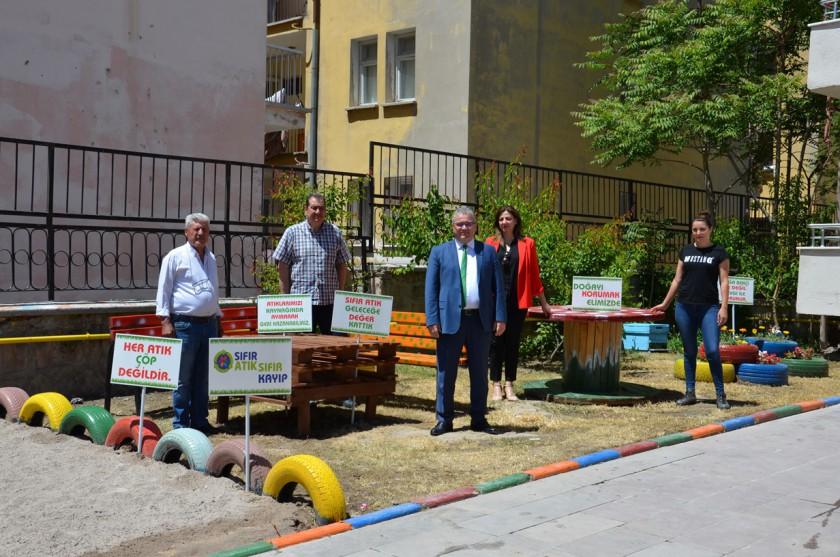 5 Haziran Çevre Günü Kapsamında Lojman Bahçemize
