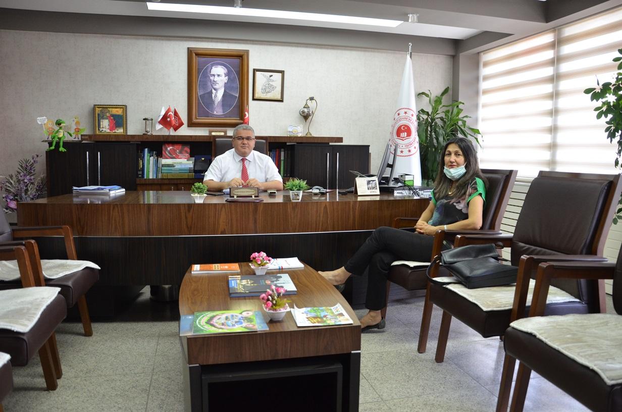 Defterdar Vekili Sayın Asuman ARI SİNAN'ın İl Müdürlüğümüzü Ziyareti