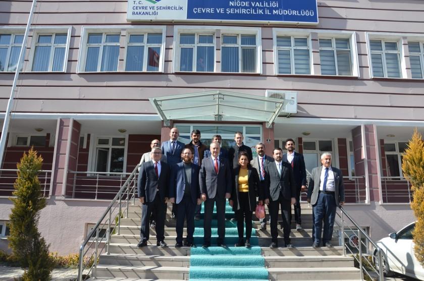 İl Genel Meclis Başkanı ve Üyelerden İl Müdürlüğümüze Ziyaret