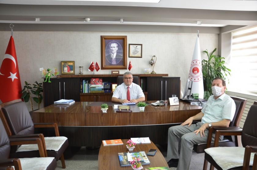İl Kültür ve Turizm Müdürü Sayın İsmail TACİMER'in Ziyareti