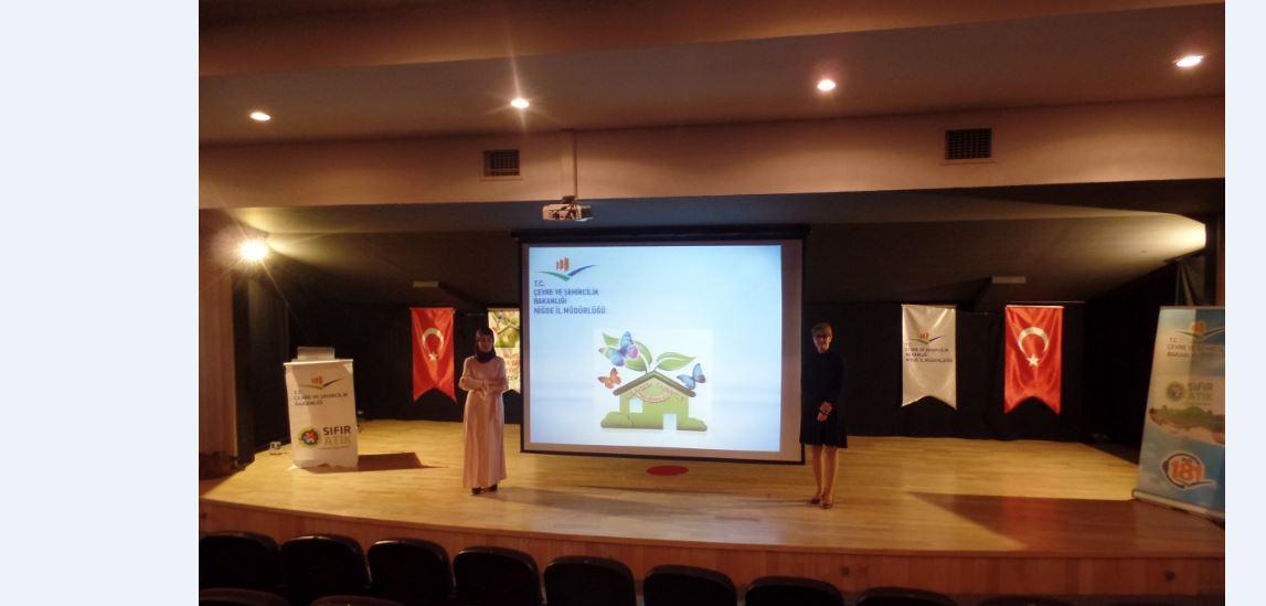 İl Müdürlüğümüz Personelleri 4 – 5 Nisan 2019 Tarihlerinde Ankara Özel Atael İlkokulu Öğrencilerine Çevre Eğitimi Vermiştir