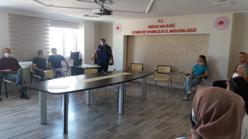 İl Müdürlüğümüz Personeline Afet Farkındalık Eğitimi Verildi