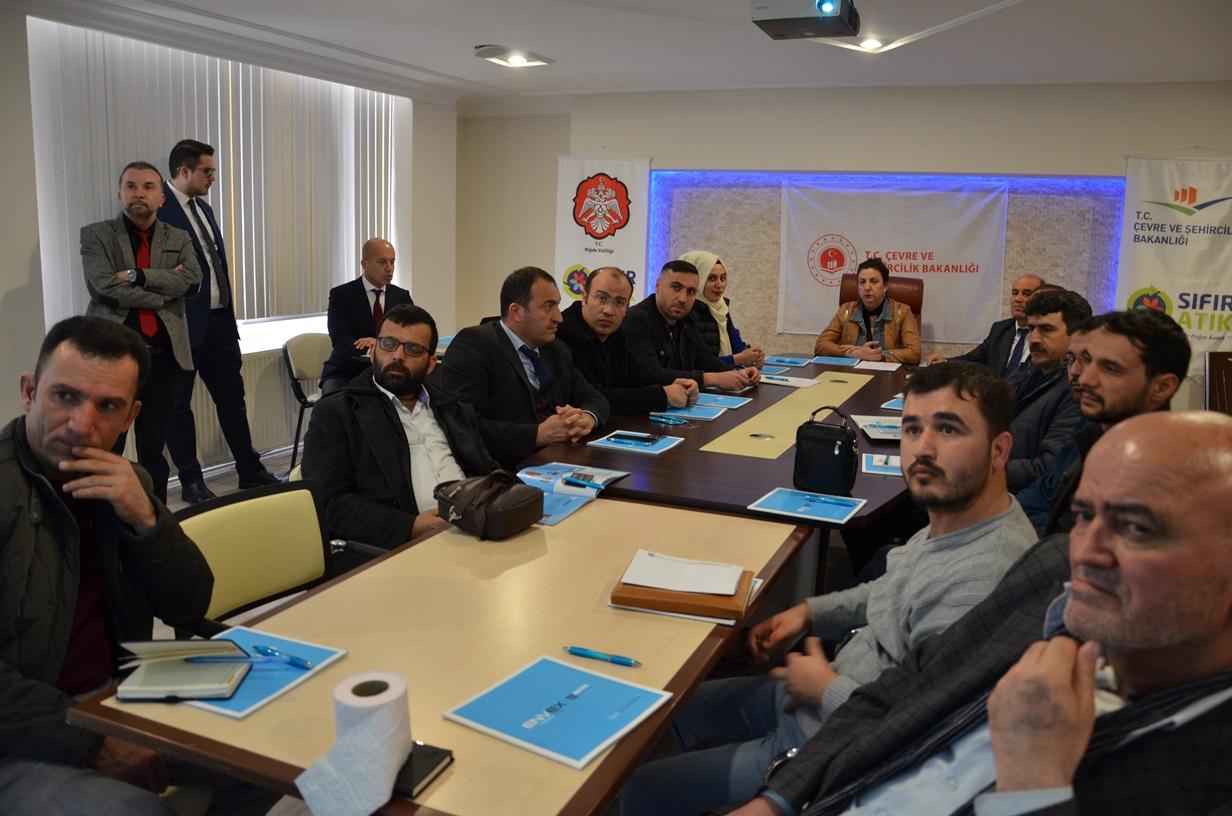 İl Müdürlüğümüzde Toz Bastırma Sistemleri TS13883 Bilgilendirme Toplantısı Yapıldı