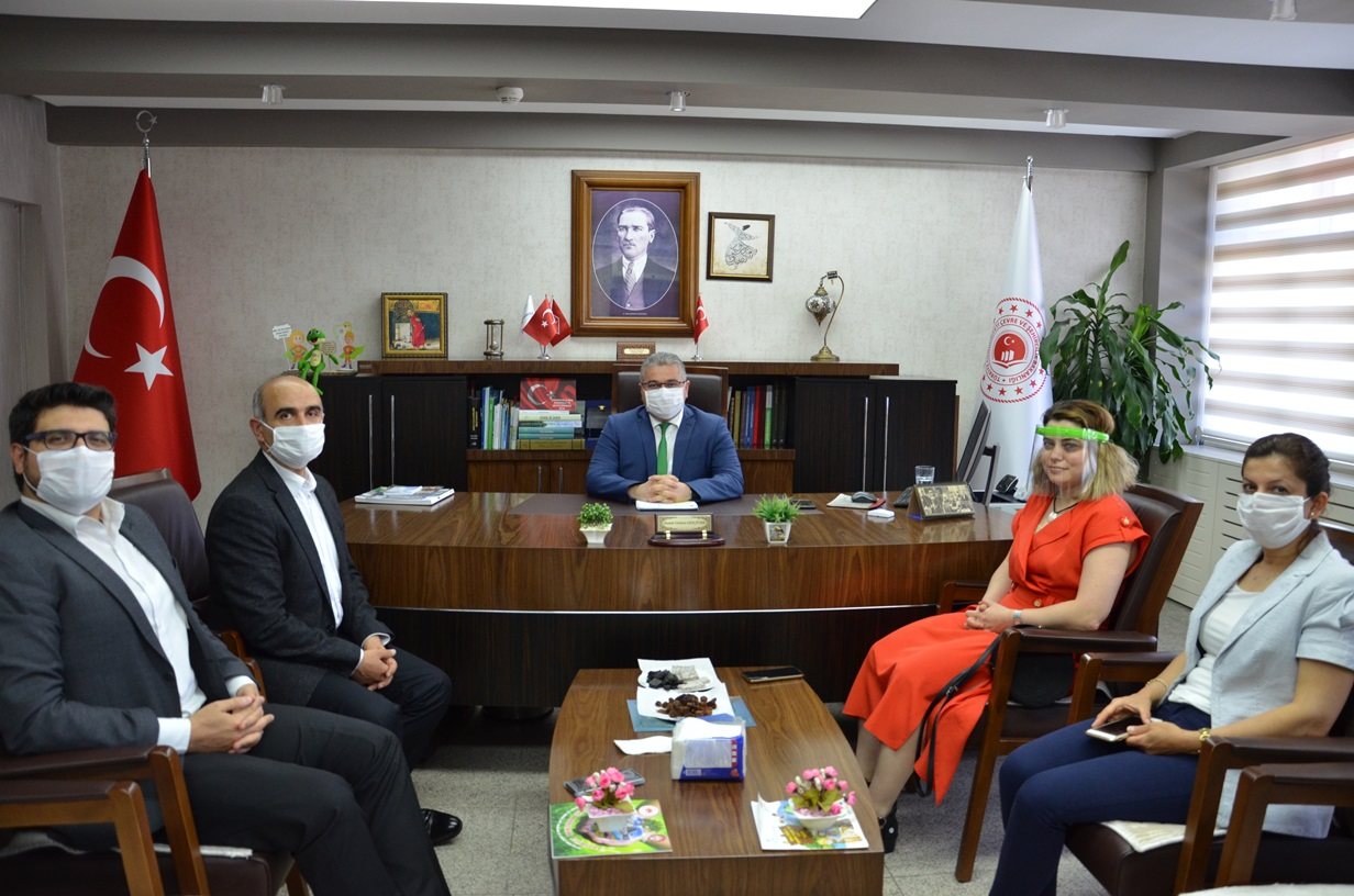 İl Sağlık Müdürü Sayın Dursun KOÇ ve Personelinin 5 Haziran Dünya Çevre Günü Ziyareti