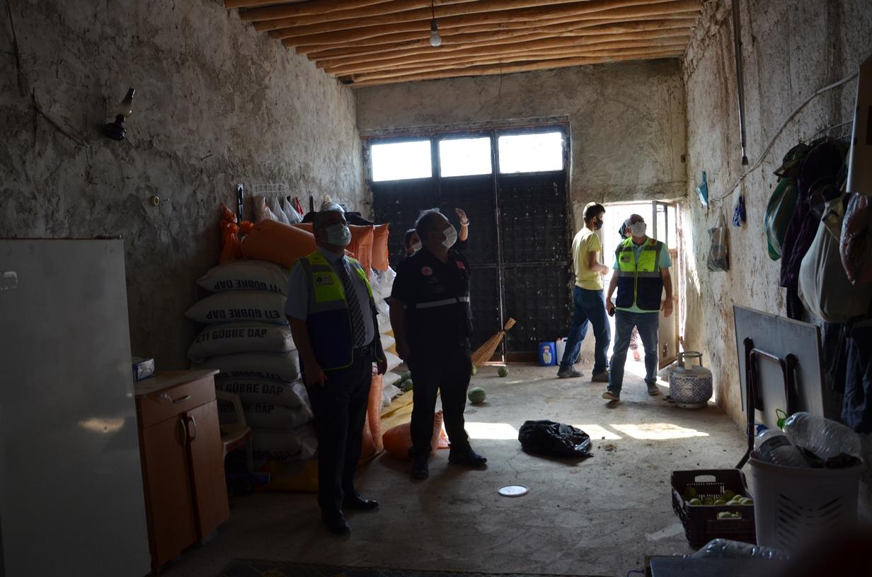 İlimiz Bor İlçesi Obruk Köyü Ön Hasar Tespit Çalışmalarımızı Yaptık