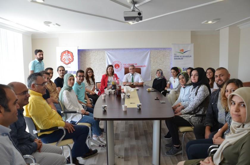 SÇP İşkur Öğrencilerinden İl Müdürlüğümüze Veda