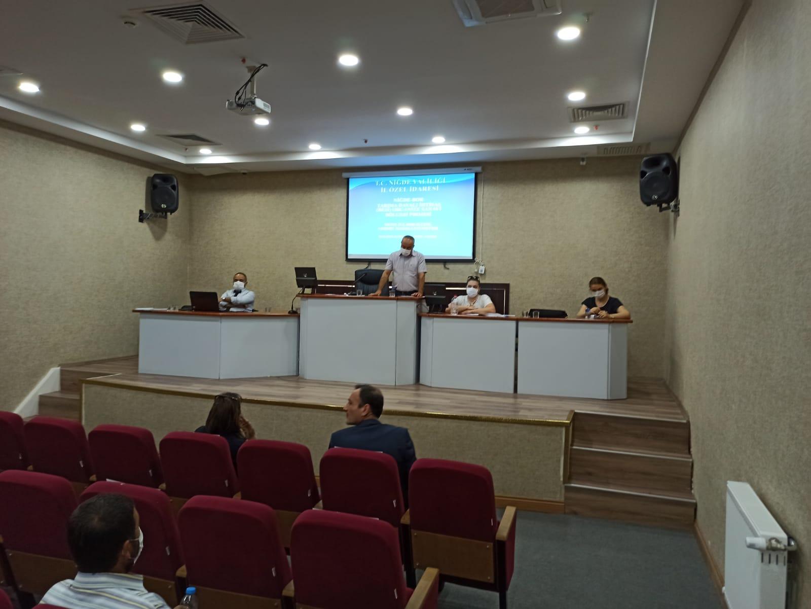 """""""Tarıma Dayalı İhtisas (Besi) Organize Sanayi Bölgesi"""" Projesi ÇED Süreci İçin Halkın Katılımı Toplantısı Yapıldı"""