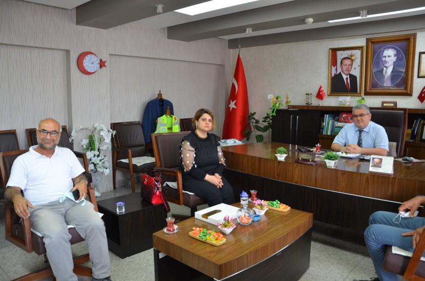 Tmmob Harita ve Kadastro Mühendisleri Odası Adana Şubesinden Ziyaret