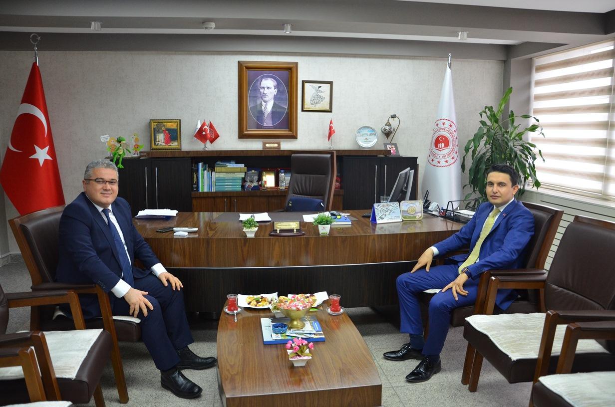 Ulukışla Kaymakamı Sayın Osman ŞAHİN'den Ziyaret