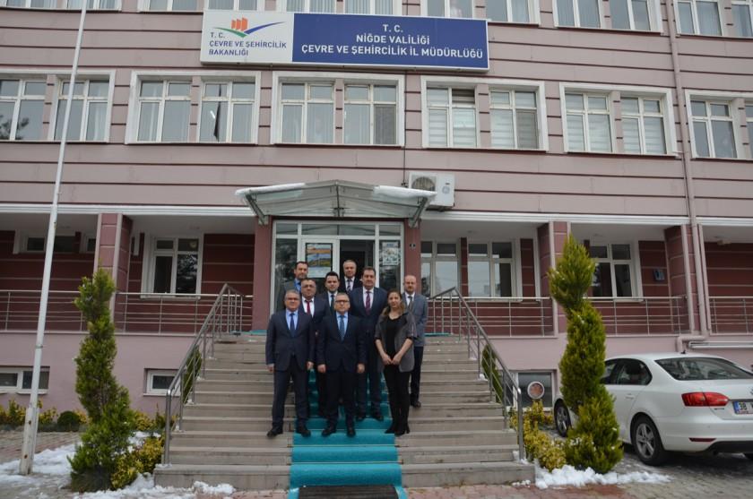 Valimiz Sayın Yılmaz ŞİMŞEK'ten İl Müdürlüğümüze Ziyaret