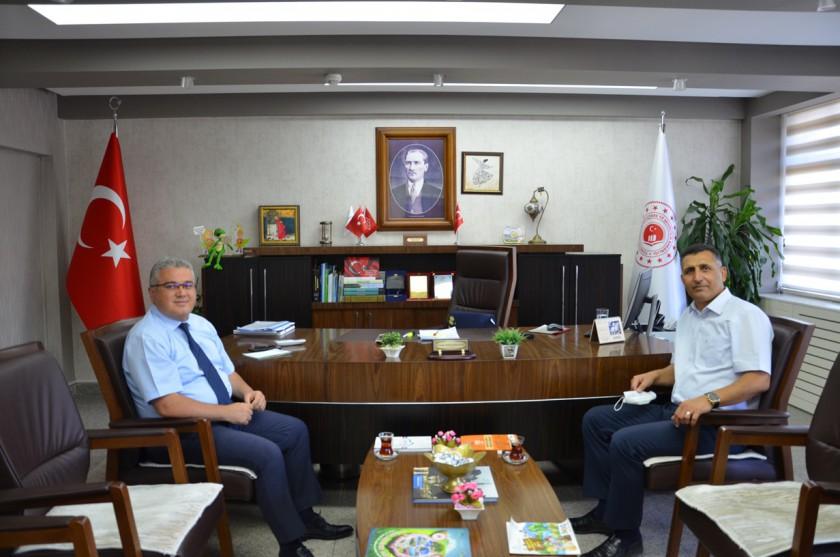 Yeni Atanan Açık Cezaevi Müdürümüz Sayın Hasan TORUN'dan Ziyaret