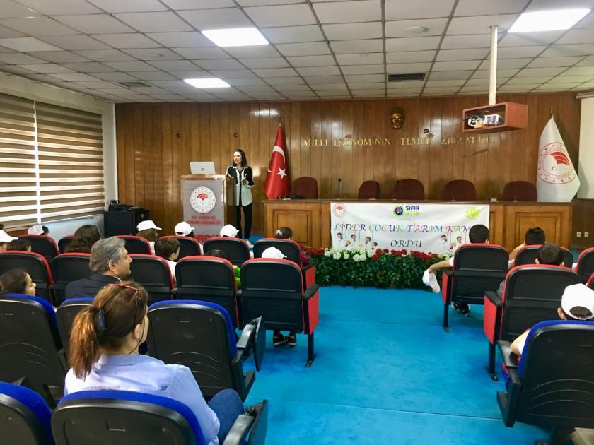 Lider Çocuk Tarım Kampı Öğrencilerine Çevre Eğitimi