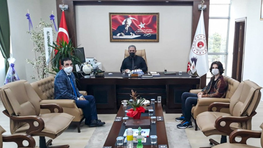 Osmaniye İl Tarım ve Orman Müdürü Recep BULUT İl Müdürümüz İrfan Remzi YILMAZ'ı ziyaret etti.