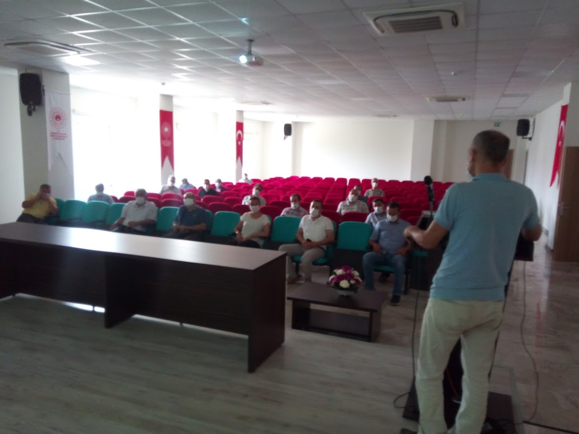TAMP Değerlendirme Toplantısı İl Müdürlüğümüzde Gerçeklerştirildi.
