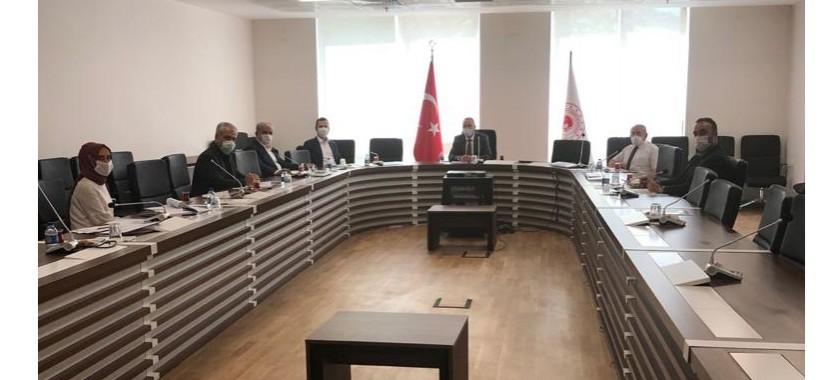Bakanlığımız Kurum İdari Kurul toplantısı 26 Haziran 2020 tarihinde Genel Müdürümüzün Başkanlığında gerçekleştirilmiştir
