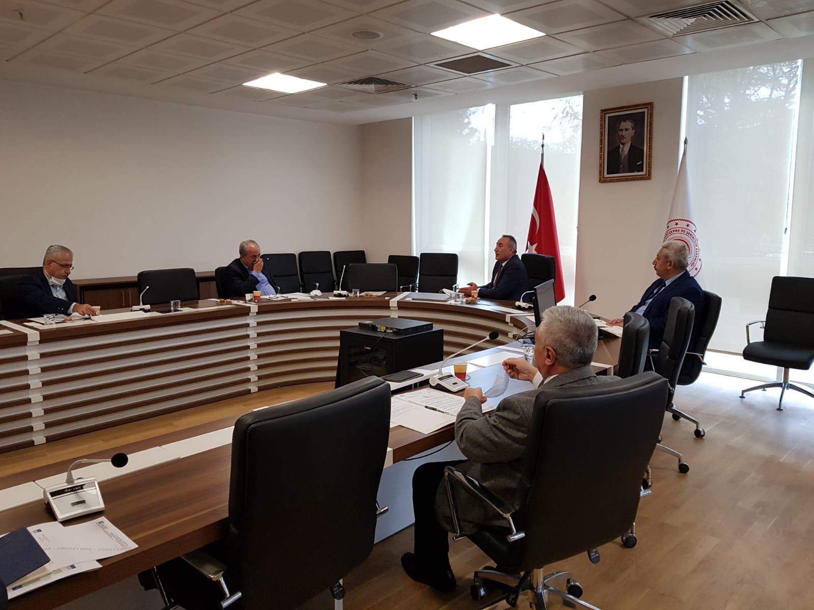 Bakanlığımız Kurum İdari Kurul toplantısı 11 Kasım 2020 tarihinde Genel Müdürümüzün Başkanlığında gerçekleştirilmiştir