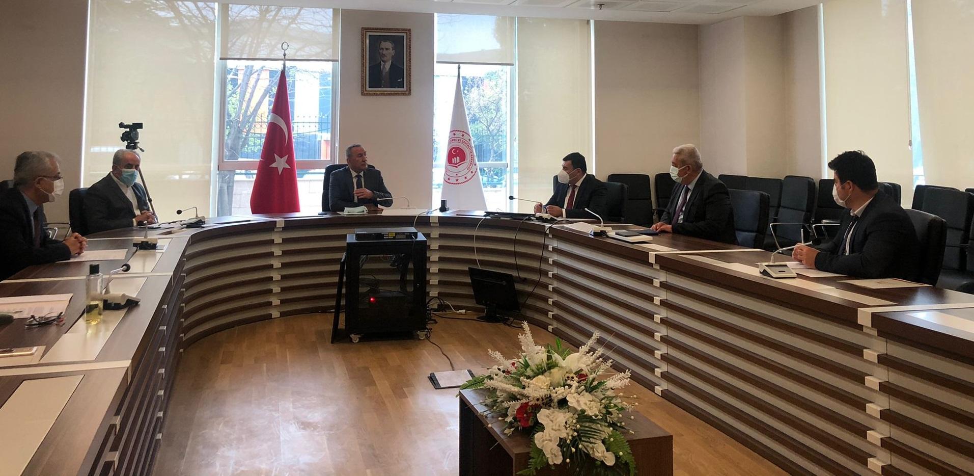Bakanlığımız Kurum İdari Kurul toplantısı 27 Nisan 2021 tarihinde Genel Müdürümüzün Başkanlığında gerçekleştirilmiştir
