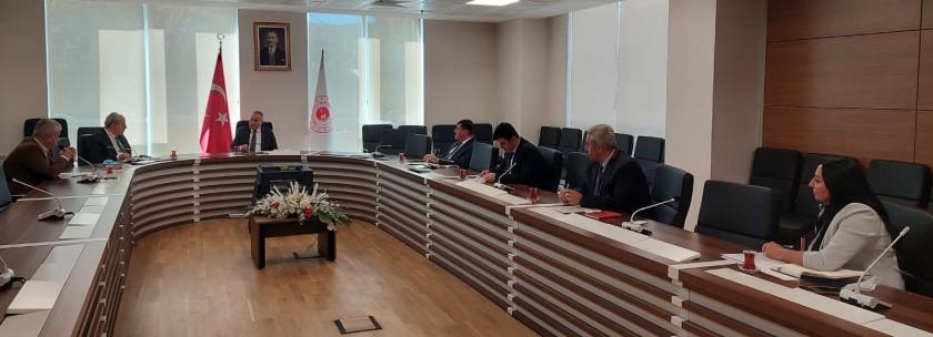 Bakanlığımız Kurum İdari Kurul toplantısı 21 Eylül 2021 tarihinde Genel Müdürümüzün Başkanlığında gerçekleştirilmiştir