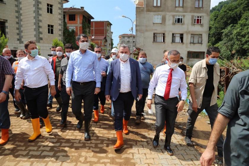 Bakanımız Sayın Murat KURUM'un Rize Ziyareti