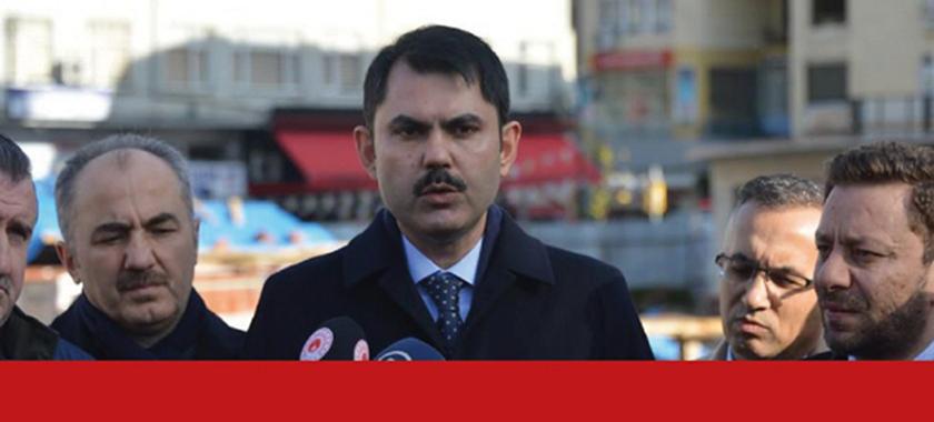 Çevre ve Şehircilik Bakanı Sayın Murat KURUM Rize'de