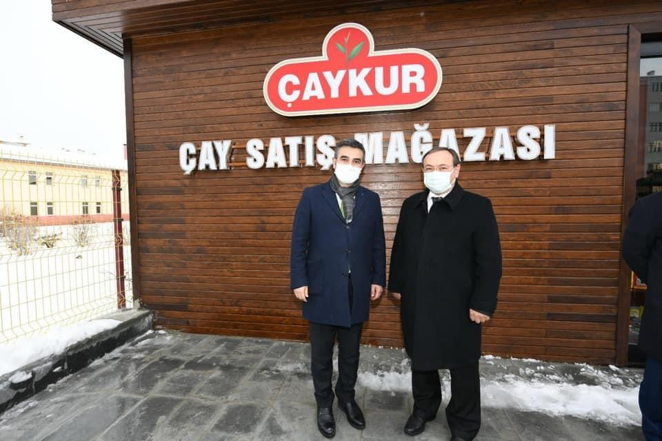Erzurum Çaykur Satış Mağazası Açılışı