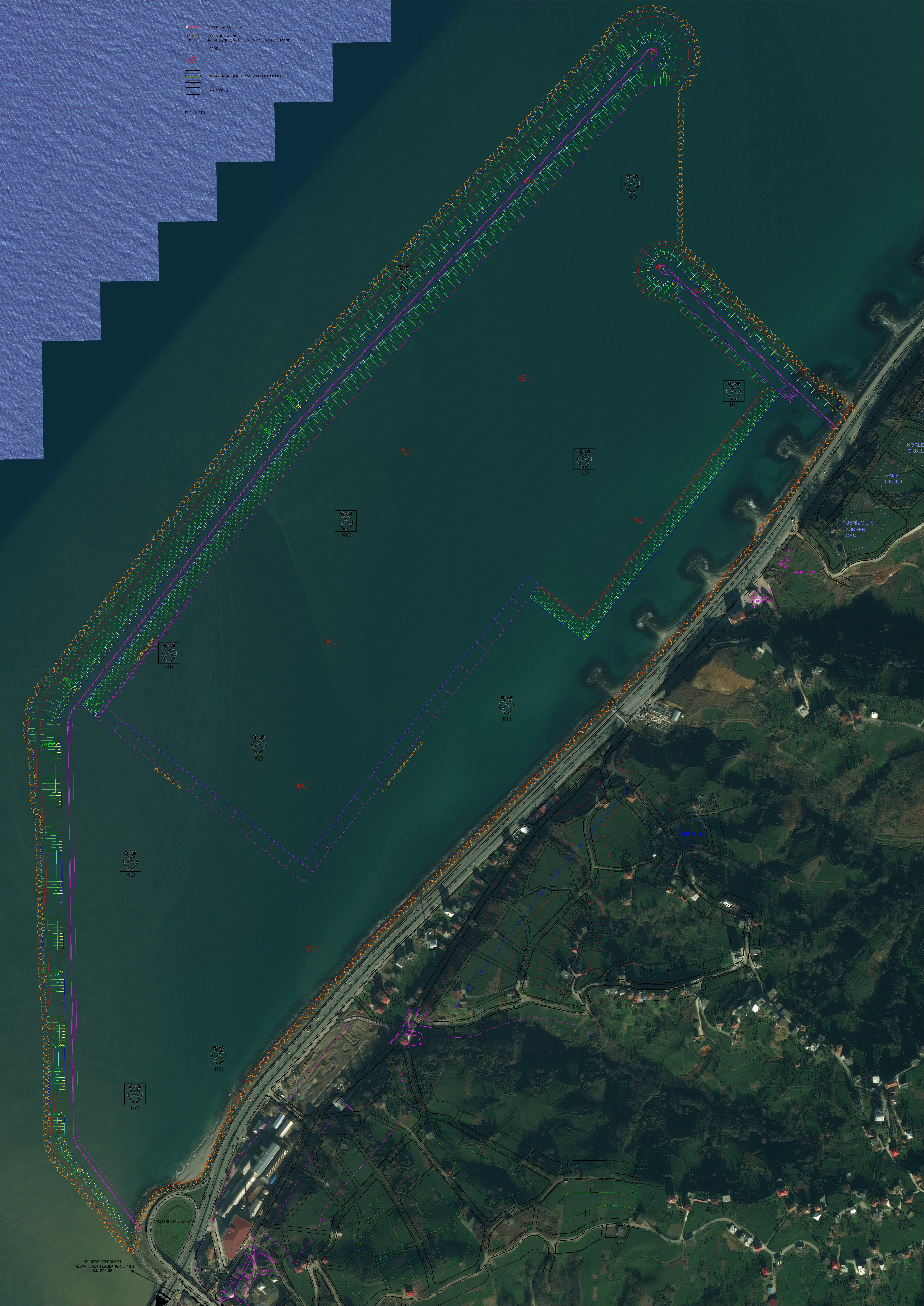 İYİDERE İLÇESİ LOJİSTİK LİMANI (Konteyner, Genel Kargo ve Ro Ro Limanı) AMAÇLI DOLGU İMAR PLANI BAKANLIĞIMIZCA ONAYLANDI