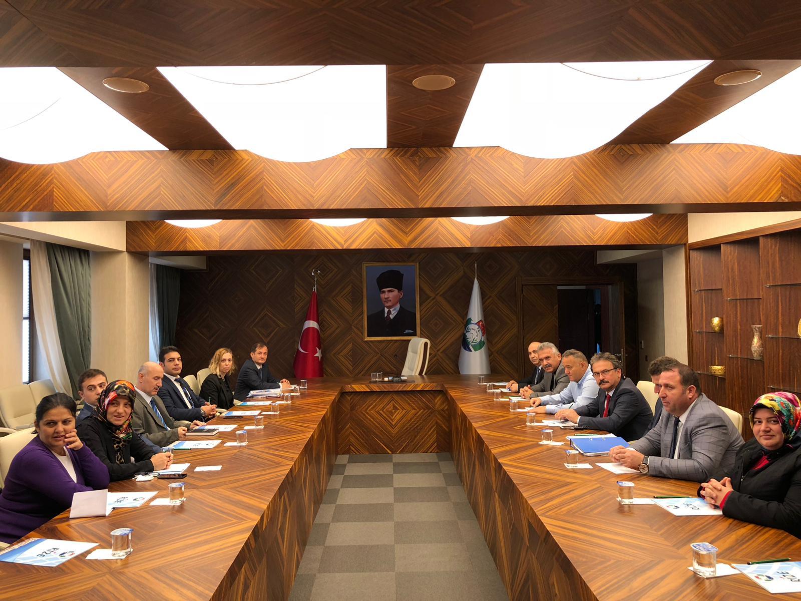 Milli Emlak Müdürlüğü Toplantısı