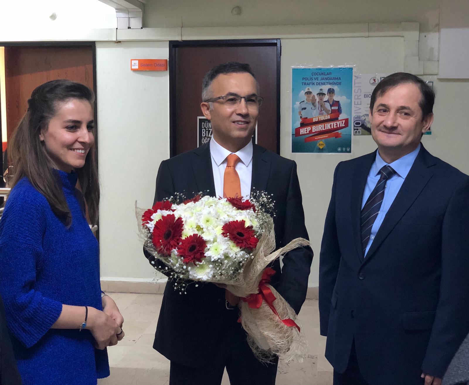 Rize Valisi Kemal ÇEBER Müdürlüğümüze ziyarette bulunarak incelemelerde bulundu