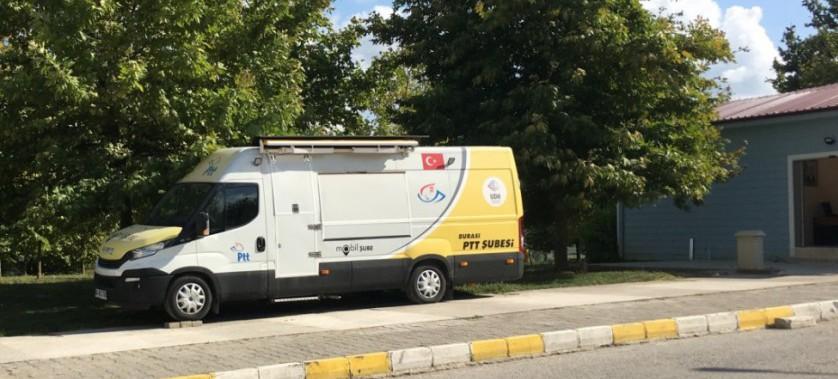 Valilik Yerleşkesi' ne Mobil PTT Şubesi