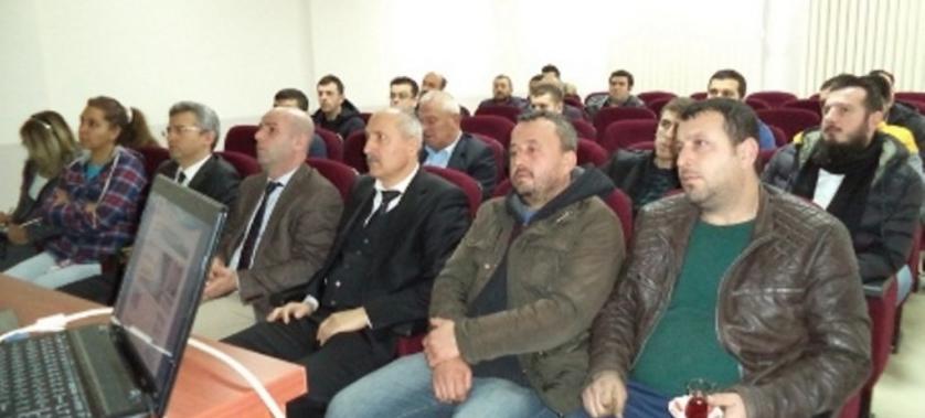 Yetkili Egzoz Gazı Emisyon Ölçüm Servisleri ile toplantı