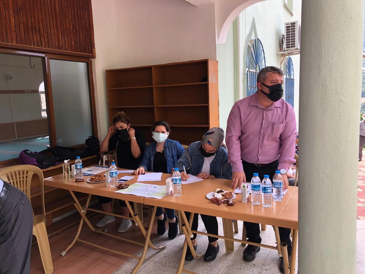 BAFRA'DA KALKER VE KET TESİSİ İLE İLGİLİ HALKIN KATILIM TOPLANTISI GERÇEKLEŞTİRİLDİ