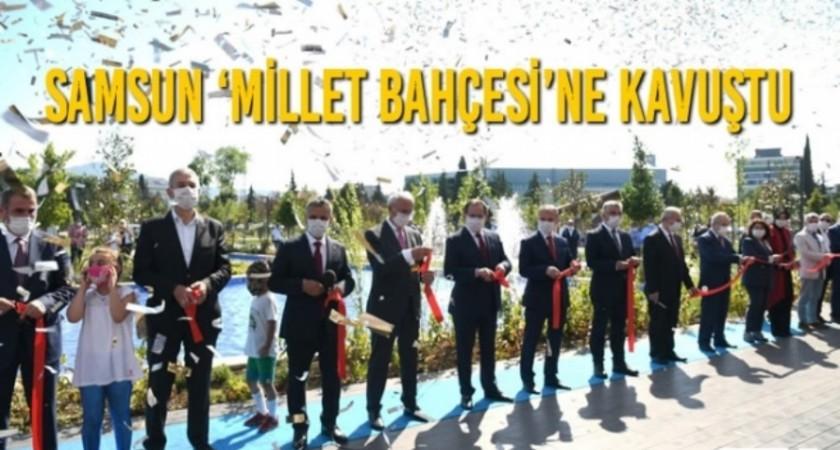 Samsun Millet Bahçesi Açıldı...