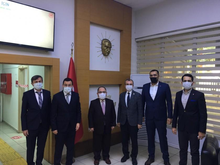 Samsun Ak Parti Milletvekili Sayın Orhan KIRCALI İl Müdürlüğümüzü Ziyaret Etmiştir
