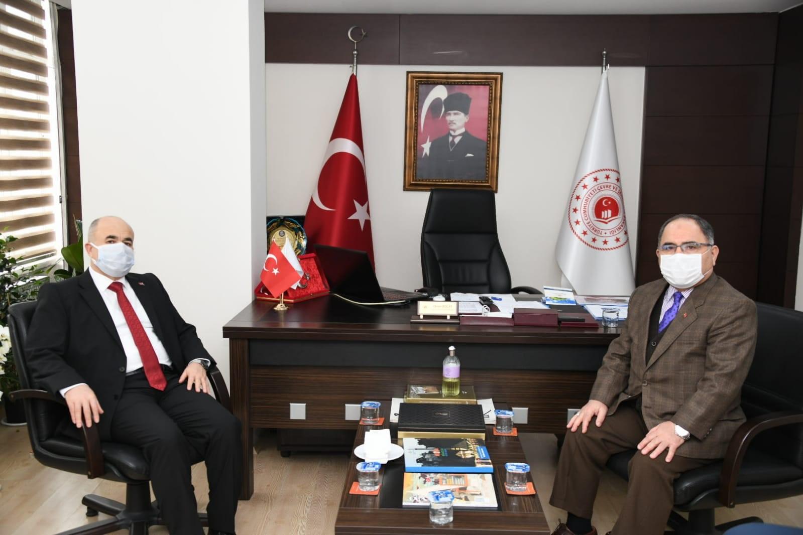 Sayın Valimiz Dr. Zülkif DAĞLI kamu kurum ziyaretleri kapsamında İl Müdürlüğümüzü ziyaret etti.