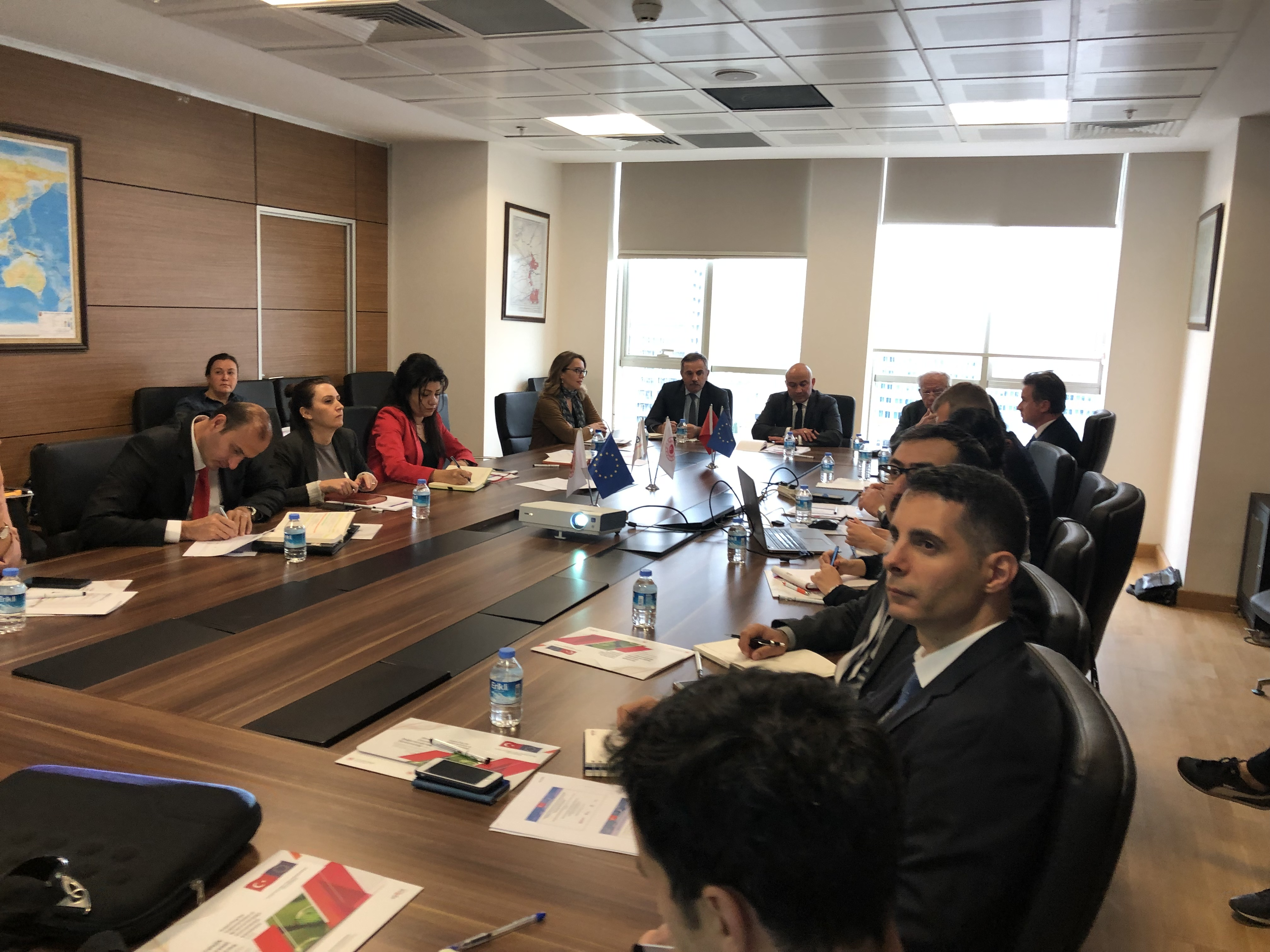 Edirne-Kırklareli-Tekirdağ Bütünleşik Kıyı Alanları Yönetim Planları SÇD Pilot Çalışması 2.Çalışma Toplantısı