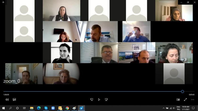 SÇD 5.Çalıştayı Video Konferans Yöntemi ile Gerçekleştirilmiştir.