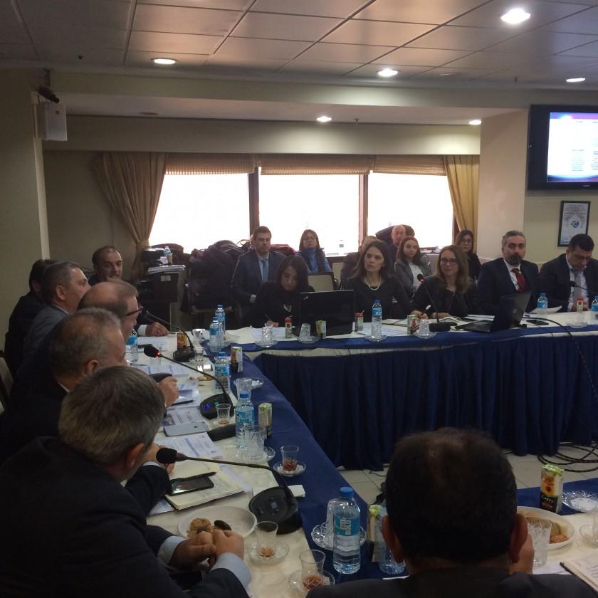 SÇD Yönetmeliği uygulamaları kapsamında Doğu Karadeniz - Çoruh Havzaları Taşkın Yönetim Planı Kapsam Belirleme Toplantısı Ankara'da gerçekleştirilmiştir.
