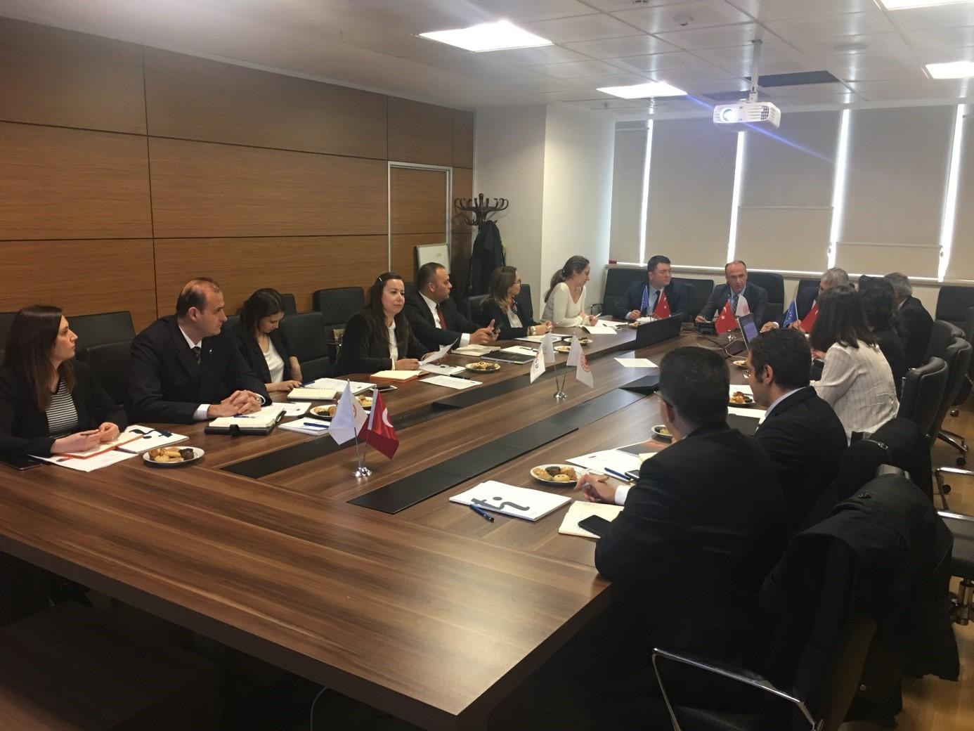 SÇD Yönetmeliğinin  Uygulanmasının Desteklenmesi  Projesi  Başlangıç Toplantısı