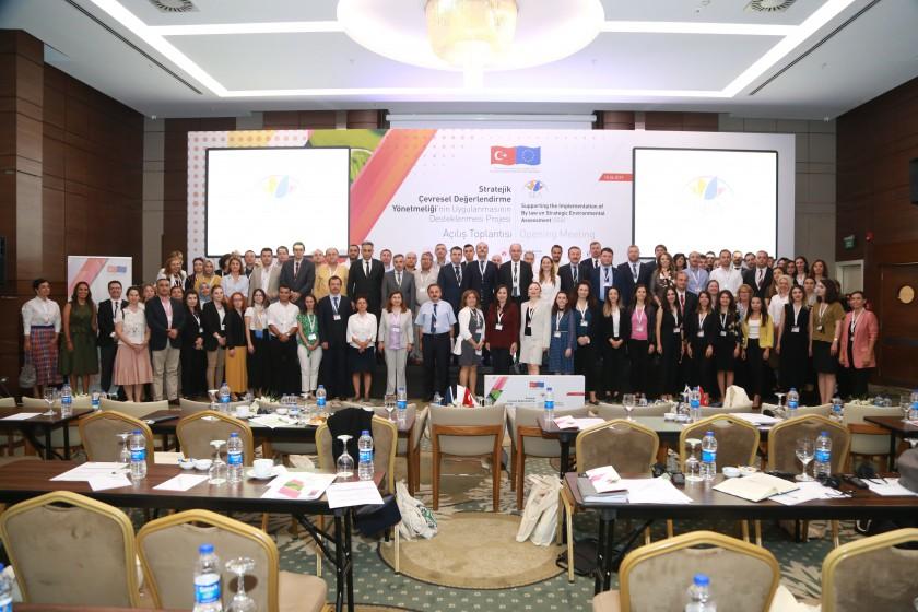 """"""" SÇD  Yönetmeliği'nin Uygulanmasının Desteklenmesi Projesi"""" Açılış Toplantısı"""
