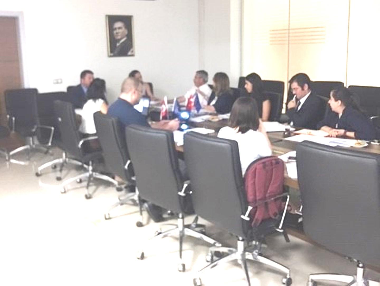 """""""SÇD Yönetmeliğinin Desteklenmesi Projesi"""" 1.Yönlendirme Komitesi Toplantısı yapılmıştır."""