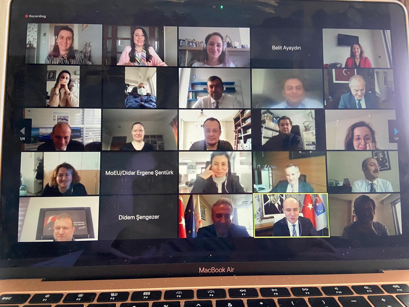 SÇD Yönetmeliğinin Uygulanmasının Desteklenmesi Projesi Kapanış Toplantısı 11 Şubat 2021 tarihinde video…