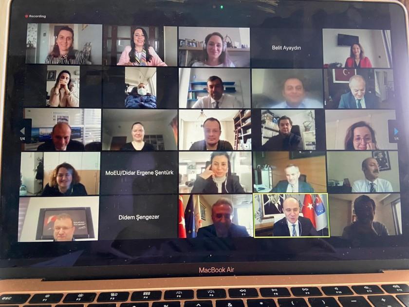 SÇD Yönetmeliğinin Uygulanmasının Desteklenmesi Projesi Kapanış Toplantısı 11 Şubat 2021 tarihinde video konferans yöntemi ile yapılmıştır.