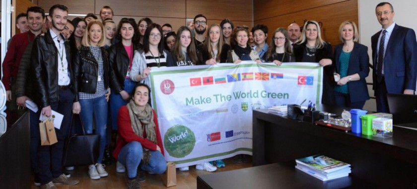 Make The World Green AB Proje Ekibiyle