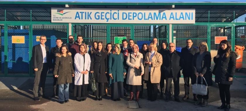 Sıfır Atık Projesi Kapsamında Ankara'da Bulunan Belediyelerin Katılımı İle Bilgilendirme Toplantısı Düzenlendi