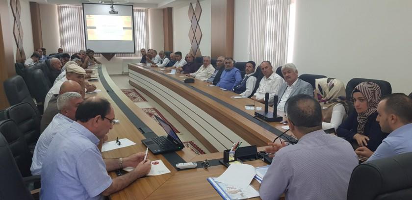 Baykan İlçesinde İmar Barışı Bilgilendirme Toplantısı yapıldı