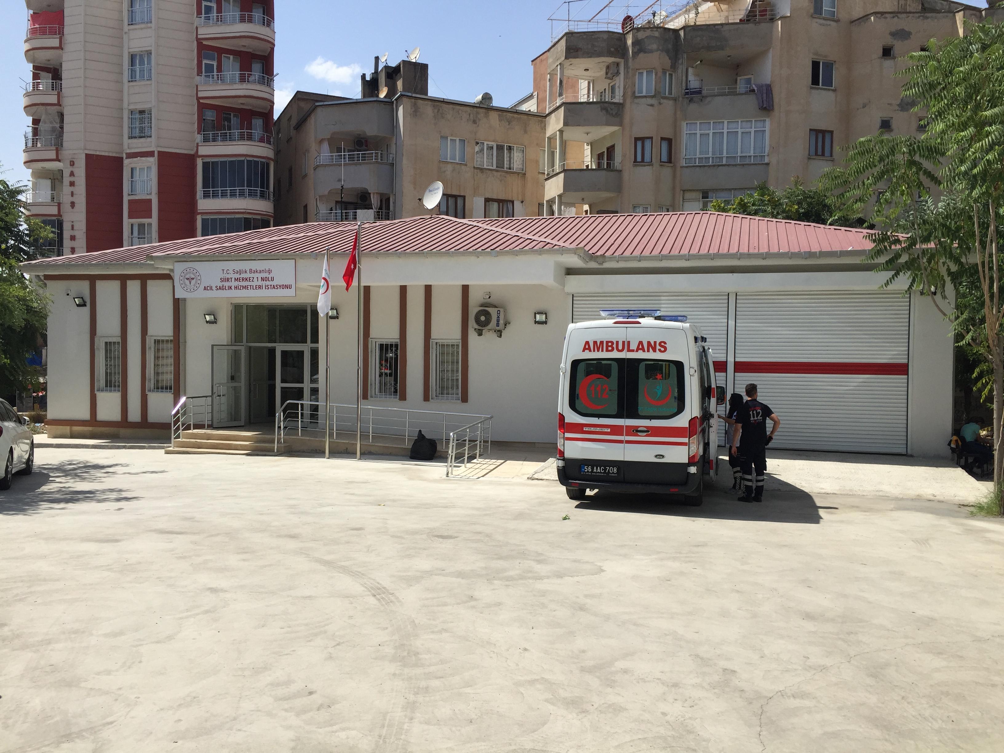 Müdürlüğümüz Denetimi Altında Yapımı Tamamlanan Acil Sağlık Hizmetleri İstasyonları