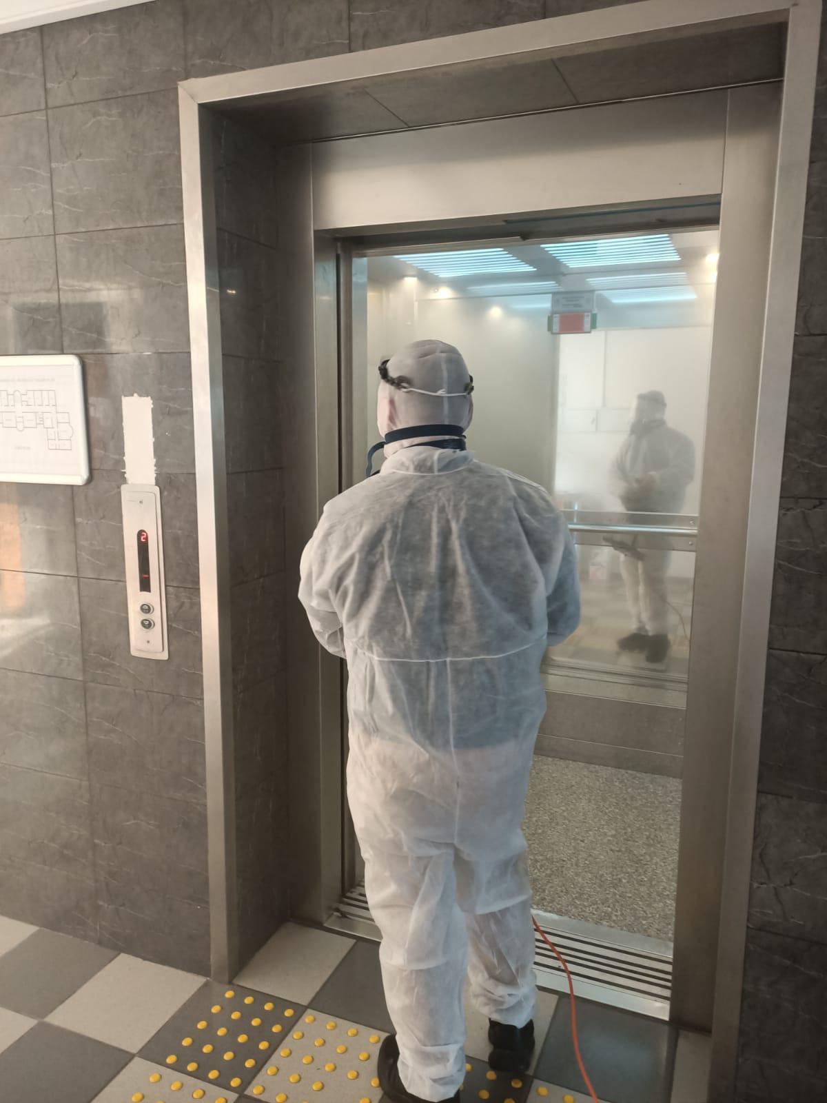 İl Müdürlüğümüz Korona (Covid-19) Virüsüne Karşı Dezenfekte Edildi.