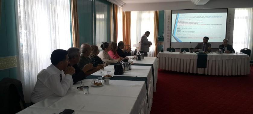20.09.2018 Tarihinde Yapı Kayıt Belgesi Verilmesine İlişkin Yapılan Değişikliklerle ilgili Toplantı Düzenlenmiştir.